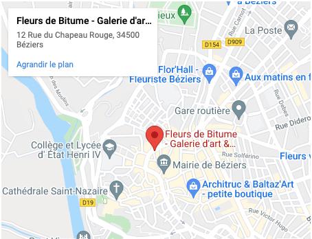 Carte Fleurs De Bitume Béziers